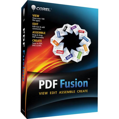 Corel PDF Fusion - Complete Product - 1 User - Standard