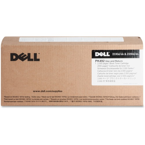 Dell PK492 Original Toner Cartridge 300/500