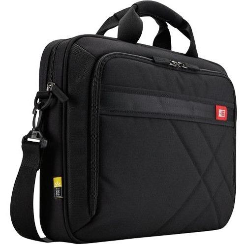 "Case Logic DLC-117BLACK Carrying Case (Messenger) for 10.1"" to 17.3"" Notebook - Black"