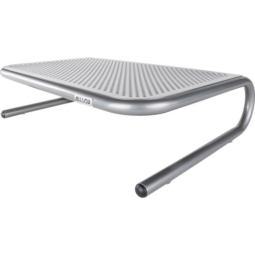 Allsop Metal Art Jr. Monitor Stand 14 Inch Wide Platform   Pewter (27021) 300/500