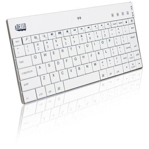 Adesso WKB-1000BW Bluetooth Mini Keyboard 1000 for iPad (white)