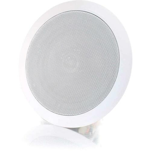 C2G Cables To Go 6in Ceiling Speaker   White 300/500