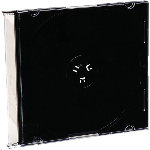 Verbatim CD/DVD Black Slim Jewel Cases   200pk (bulk) 300/500