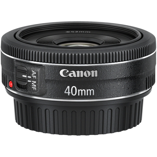 Canon - 40 mm - f/2.8 - Medium Telephoto Fixed Lens for Canon EF/EF-S