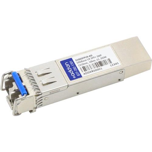 AddOn Intel E10GSFPLR Compatible TAA Compliant 1000BASE-LX and 10GBase-LR SFP+ Transceiver (SMF, 1310nm, 10km, LC, DOM)