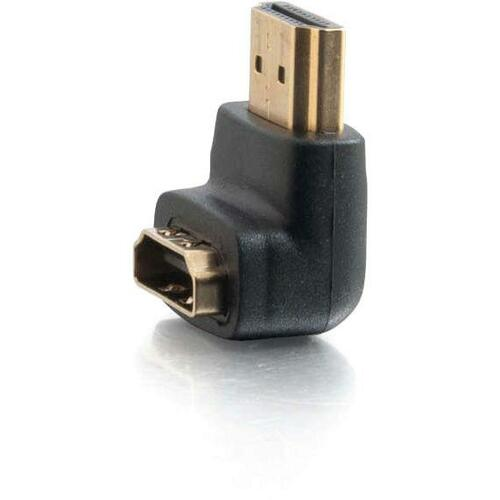 C2G HDMI to HDMI Adapter - 90° Down - Male to Female