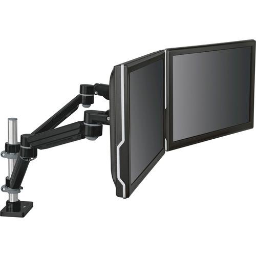 3M Desk Mount for Flat Panel Display - Black