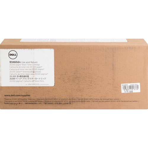 Dell Original Toner Cartridge   Black 300/500