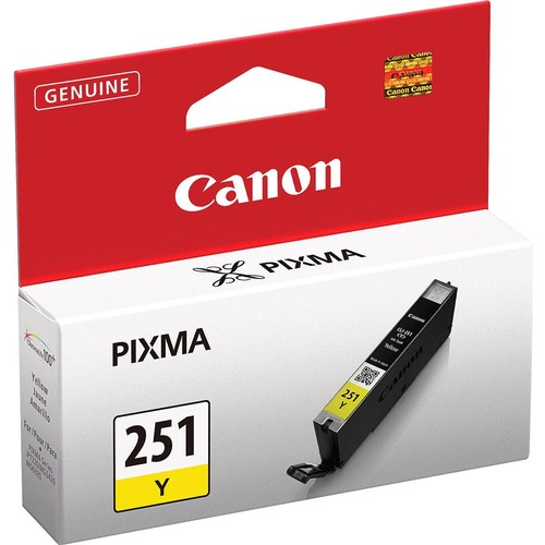 Canon CLI-251Y Original Ink Cartridge - Yellow