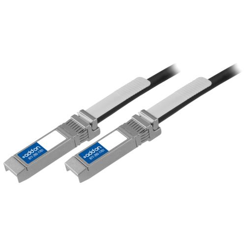 AddOn Cisco SFP-H10GB-CU2M Compatible TAA Compliant 10GBase-CU SFP+ to SFP+ Direct Attach Cable (Passive Twinax, 2m)