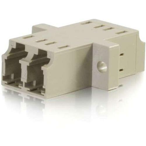 C2G LC/LC Duplex Multimode Fiber Coupler