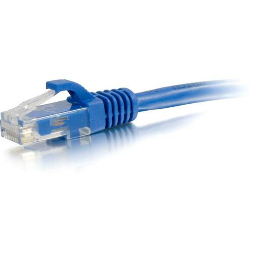 C2G 12ft Cat6 Ethernet Cable - Snagless Unshielded (UTP) - Blue