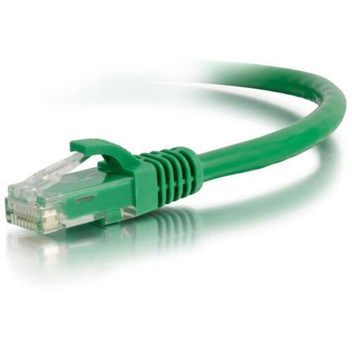 C2G-15ft Cat6 Snagless Unshielded (UTP) Network Patch Cable - Green