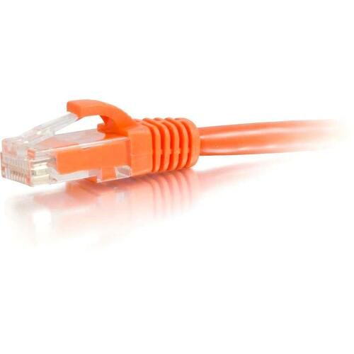 C2G-15ft Cat6 Snagless Unshielded (UTP) Network Patch Cable - Orange