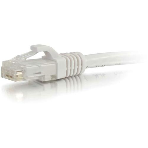 C2G-8ft Cat6 Snagless Unshielded (UTP) Network Patch Cable - White