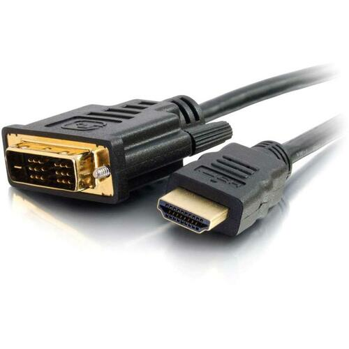 C2G 5m (16ft) HDMI To DVI Cable   HDMI To DVI D Adapter Cable   1080p   M/M 300/500