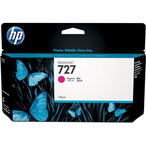 HP HEWB3P20A 727 Ink Cartridge, Magenta Standard Yield 300/500