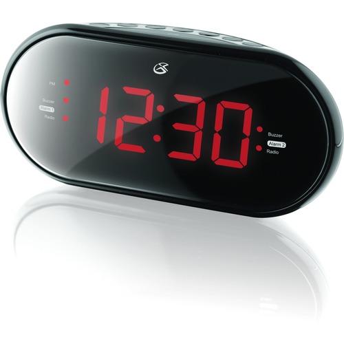 GPX Desktop Clock Radio - Mono