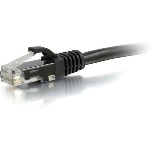 C2G 20ft Cat6a Snagless Unshielded (UTP) Network Patch Ethernet Cable Black 300/500