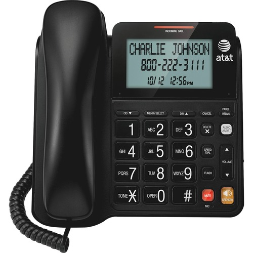 AT&T CL2940 Standard Phone - Black