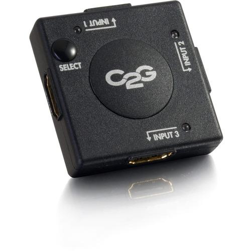 C2G 3 Port HDMI Switch   Auto Switch 300/500