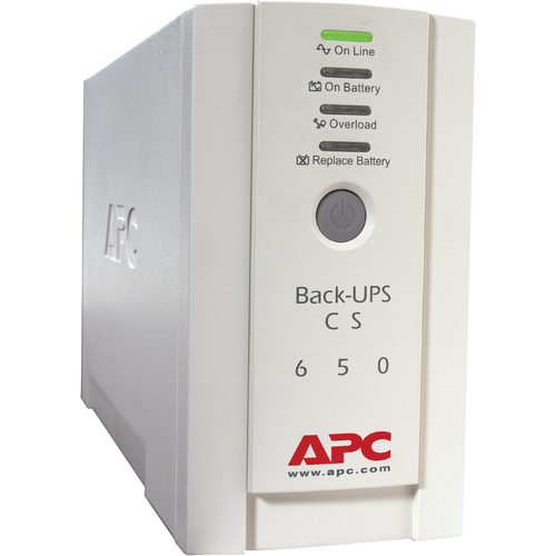 APC Back UPS CS 650VA 230V For International Use 300/500