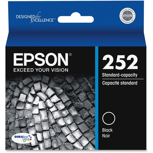 Epson DURABrite Ultra T252120 Original Ink Cartridge   Black 300/500