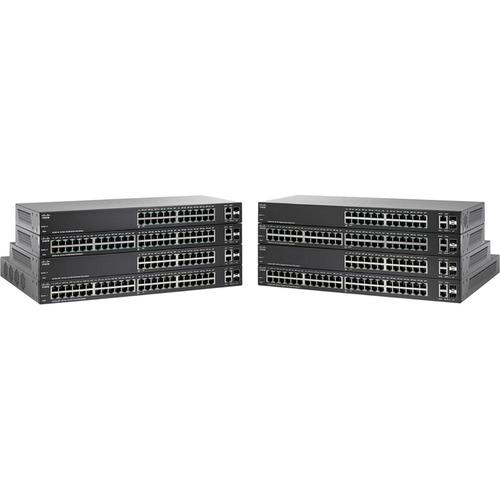 Cisco SF220-24 24-Port 10/100 Smart Plus Switch