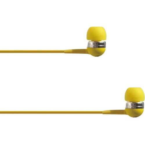 4XEM Ear Bud Headphone Yellow