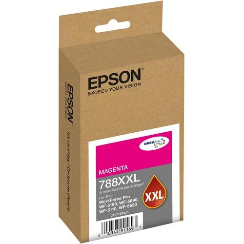 Epson DURABrite Ultra 788XXL Original Ink Cartridge   Magenta 300/500