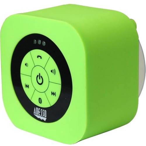 Adesso Xtream Xtream S1G Portable Bluetooth Speaker System - Green