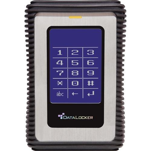 DataLocker DL3 2 TB Encrypted External Hard Drive 300/500