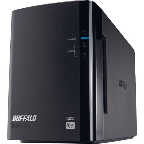 BUFFALO DriveStation Duo USB 3.0 2-Drive 8 TB Desktop DAS (HD-WH8TU3R1)