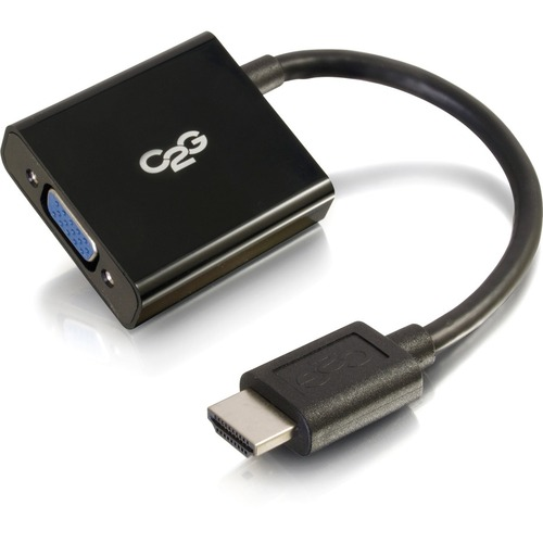 C2G HDMI To VGA Adapter   HDMI To VGA Converter Adapter   1080p 300/500
