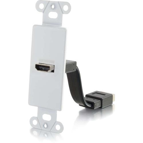 C2G HDMI Pass Through Wall Plate