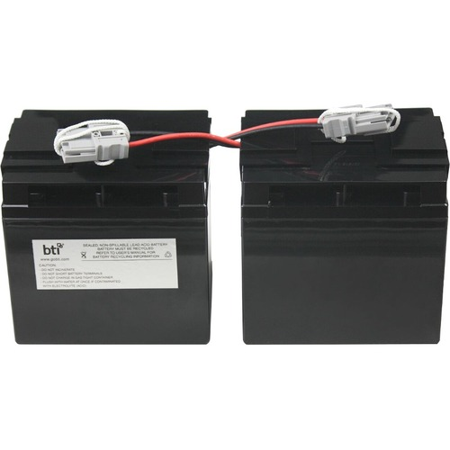 BTI Replacement Battery RBC55 for APC - UPS Battery - Lead Acid