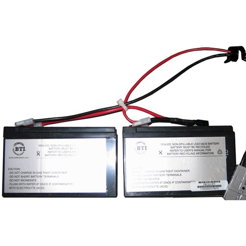 BTI Replacement Battery RBC22 for APC - UPS Battery - Lead Acid