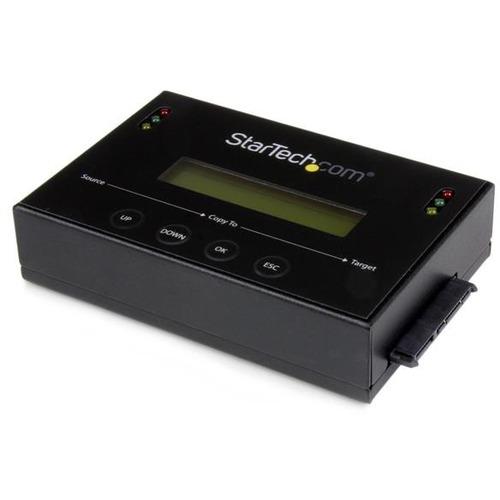 """StarTech.com Standalone 2.5 / 3.5"""" SATA Hard Drive Duplicator w/ Multi HDD / SSD Image Backup Library"""