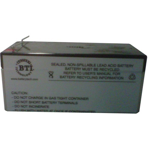 BTI Replacement Battery RBC47 for APC - UPS Battery - Lead Acid