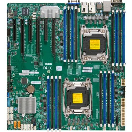 Supermicro X10DRi Server Motherboard - Intel Chipset - Socket LGA 2011-v3 - Extended ATX