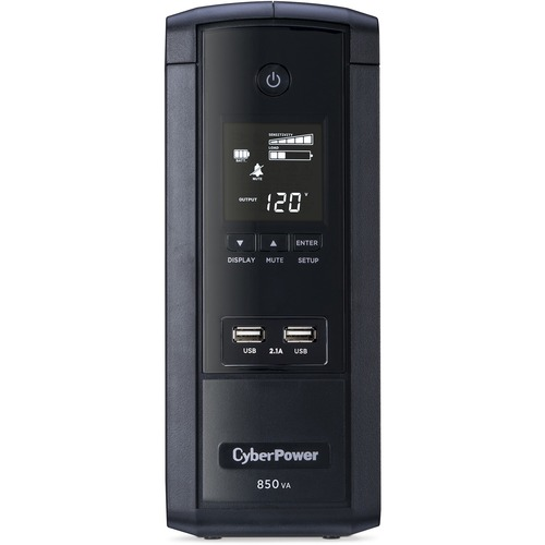 CyberPower UPS Systems BRG850AVRLCD Intelligent LCD    Capacity: 850 VA / 510 W 300/500