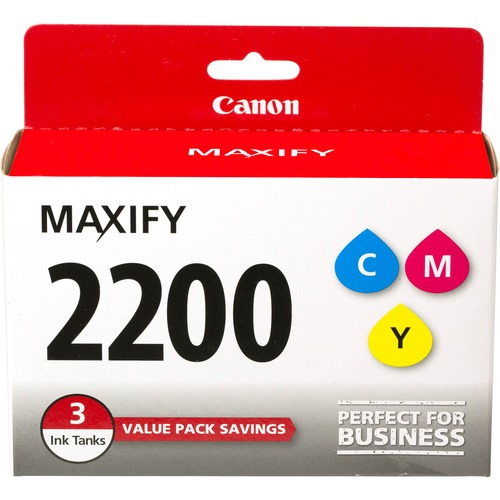 Canon PGI-2200 CMY Original Ink Cartridge - Yellow, Cyan, Magenta