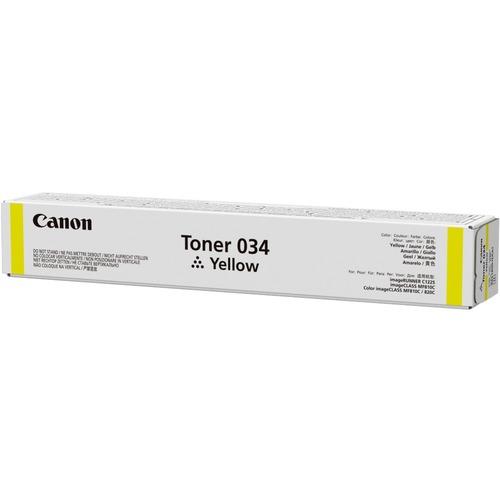Canon 034 Original Toner Cartridge   Yellow 300/500