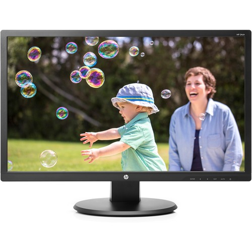 "HP 24uh 24"" LED LCD Monitor - 16:9 - 5 ms - 1920 x 1080 - Full HD"