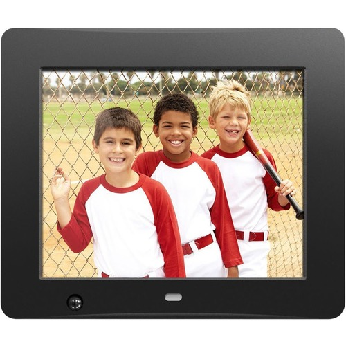 Aluratek 8 Inch Digital Photo Frame With Motion Sensor And 4GB Built In Memory 300/500