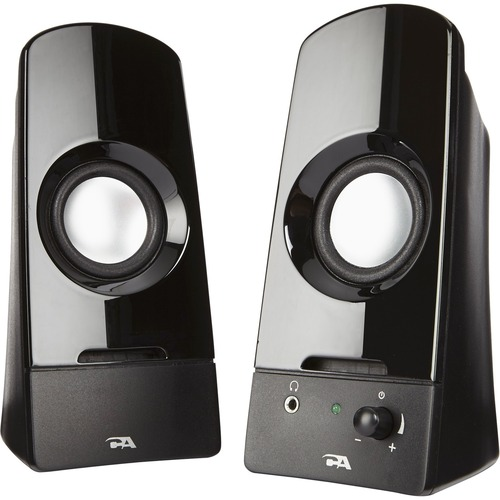 Cyber Acoustics Curve Sonic 2.0 Speaker System - 3 W RMS