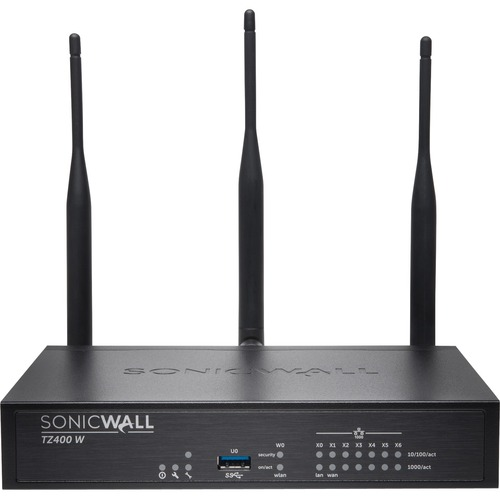 SONICWALL TZ400 WIRELESS AC SECURE UPGRADE PLUS 2YR 300/500