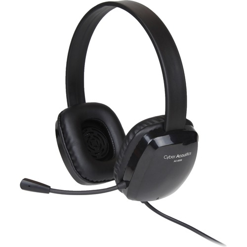 Cyber Acoustics Stereo Headset W/ Single Plug 300/500