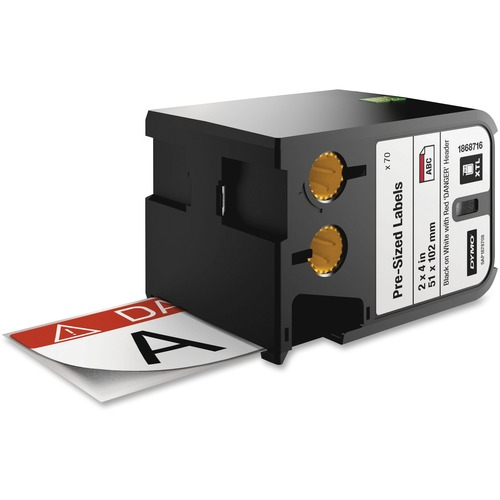 Dymo XTL Pre Sized Safety Labels 300/500