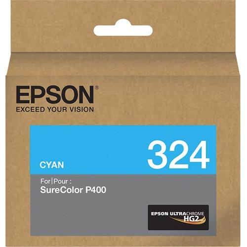 Epson UltraChrome 324 Original Ink Cartridge - Cyan